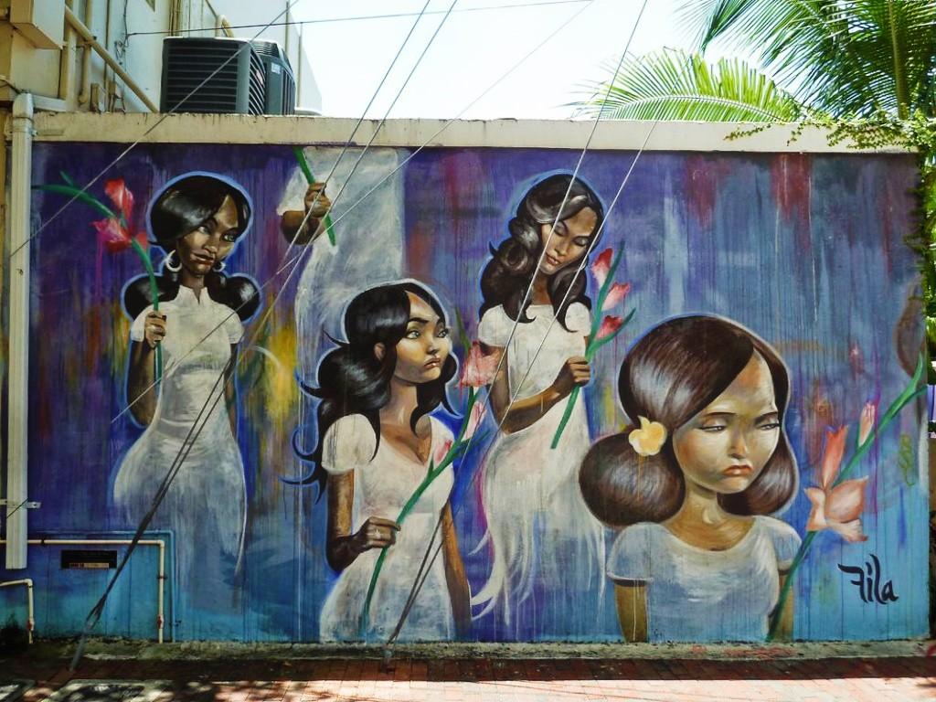 Fresque murale Little Havana