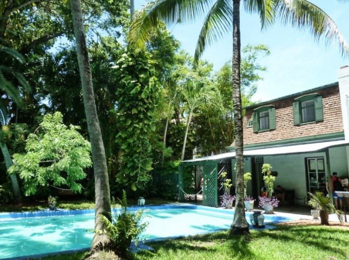 Keys piscine maison hemingway