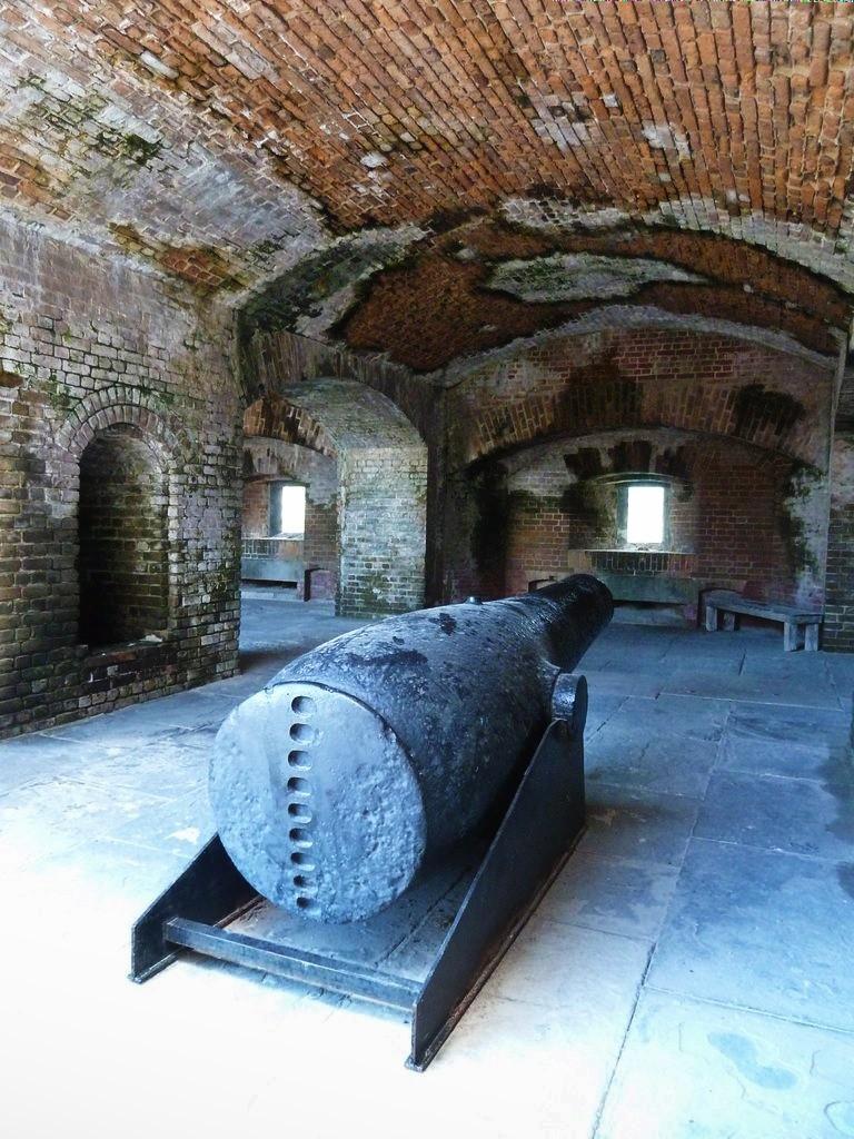 Keys Fort Zachary à l'intérieur