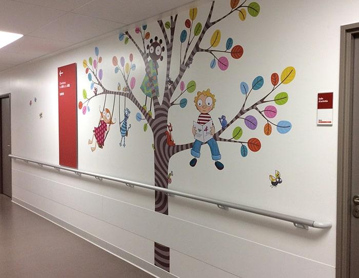 decoration hopital et urgences pediatriques