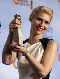 Claire Danes - Globos de Oro