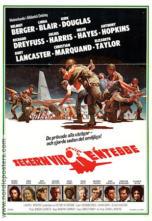Victory at Entebbe movie poster