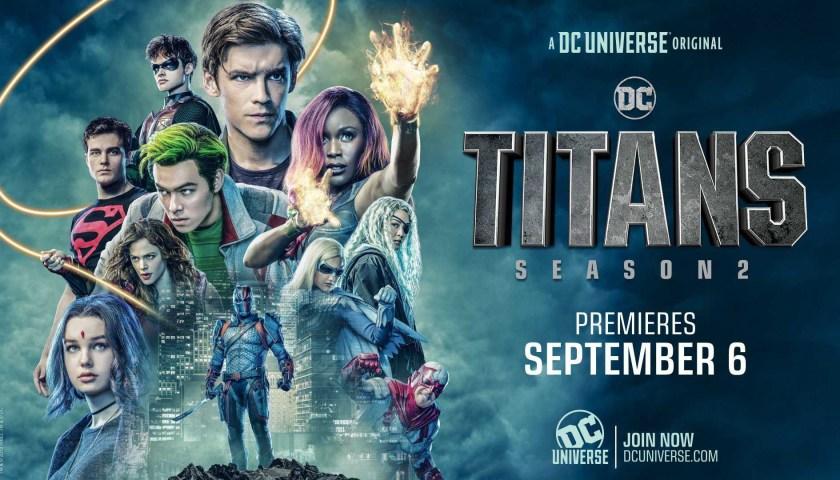 Titans Temporada 2 descarga por MEGA