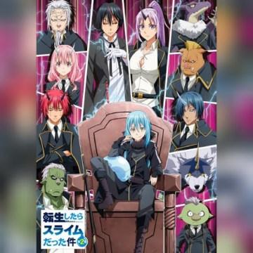 Tensei shitara Slime Datta Ken (temporada 2 parté 2 ) HD 720p Sub Español (Mega)