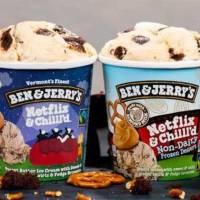 """""""Netflix & Chilll'd"""": Neue Eiscreme-Sorte von Ben & Jerry's"""