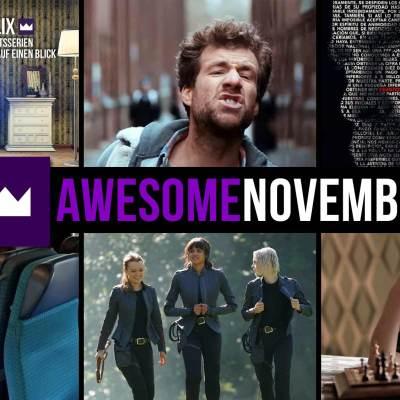 Toplisten: Die beliebtesten TV-Serien des Monats November 2020