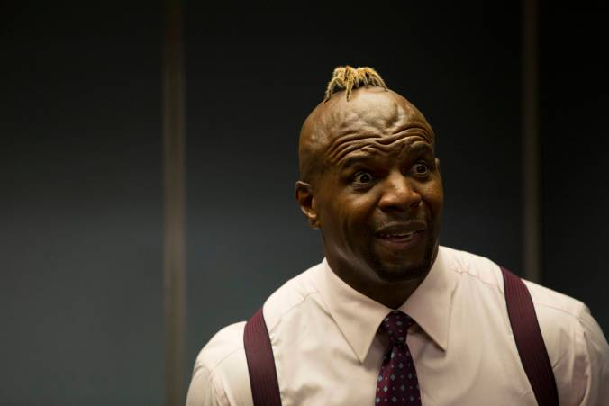 "BROOKLYN NINE-NINE: Sgt. Jeffords (Terry Crews) in the ""Boyle's Hunch"" Fox Broadcasting Co. CR: John P Fleenor/FOX."