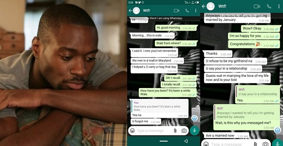 Image result for Nigerian Lady shares conversation with a guy she turned down his proposal.
