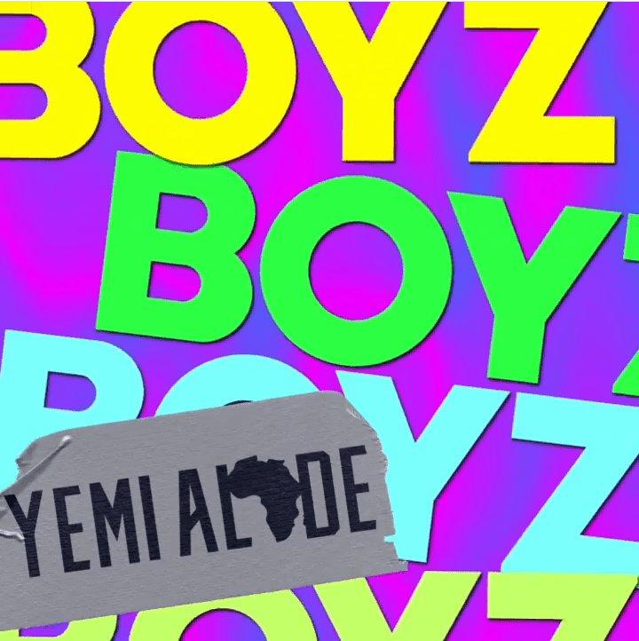 Yemi Alade – Boyz Mp3 Download Audio