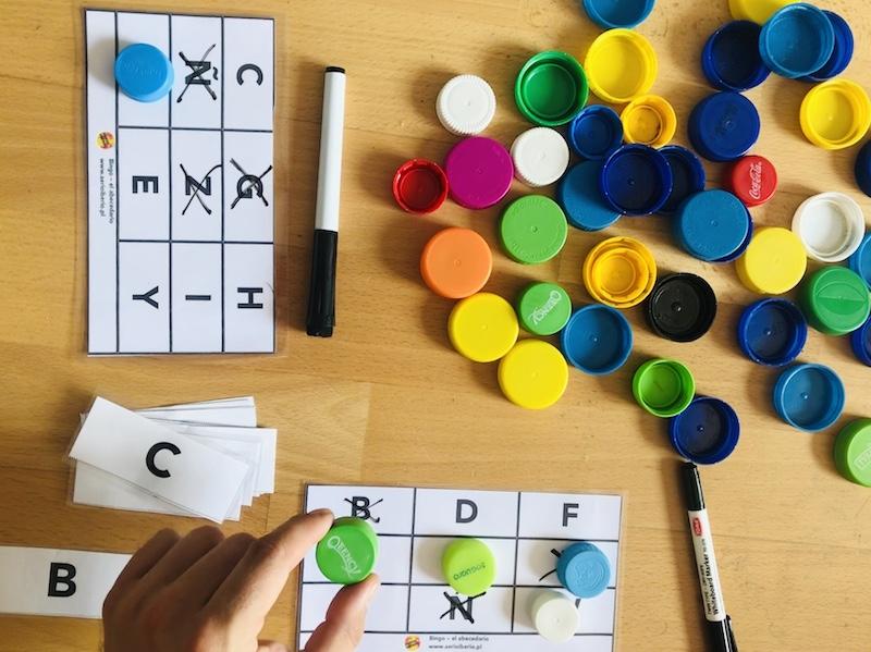hiszpański gra w bingo plastikowe zakrętki