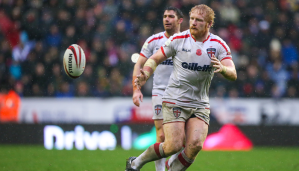 James Graham in action for England during the 2015 Test Series against New Zealand.