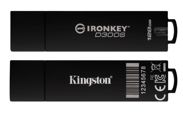 Kingston Ironkey D300 S Series 128GB model