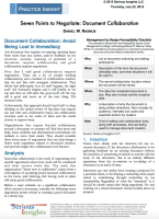 A Practice Insight: Seven Points to Negotiate for Document Collaboration PDF image