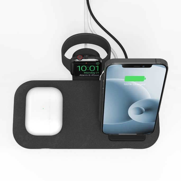 Mophie Wireless Charging Stand+ from above