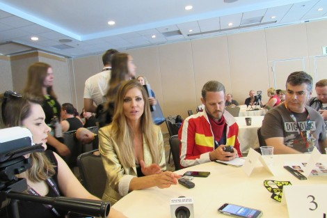 Tricia Helfer Interview from San Diego Comic-Con 2017