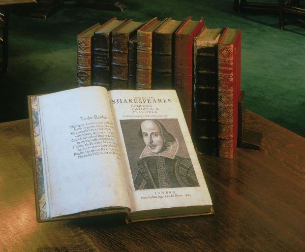 Shakespeare First Folio at the Folger Shakespeare Library