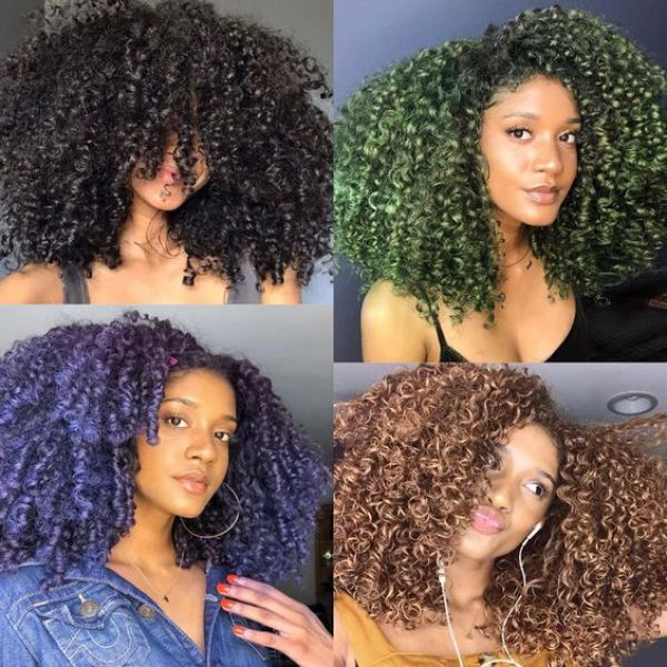 Color Hair The Harmless Way With These Popular Products That most women are using. It's fun, easy to use and won't hurt your hair.