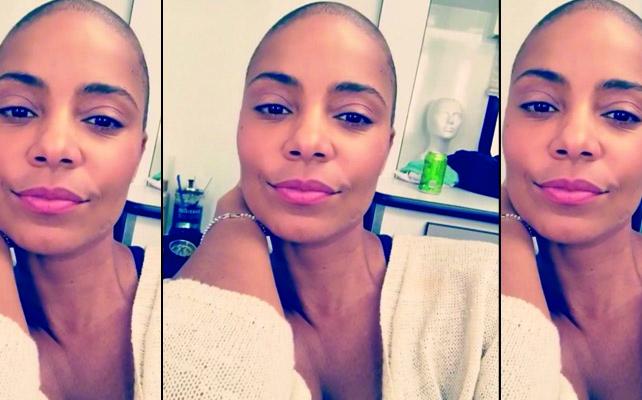 Sanaa Lathan, The Big Chop & Behind The Scenes On New Netflix Movie