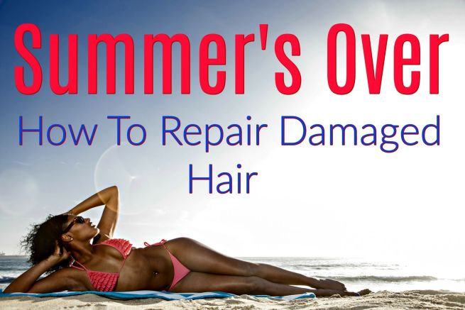 See if you have damaged hair from too summer fun from hair expert, Jodi Dery. Let's get hair ready for fall and winter with the right hair products.
