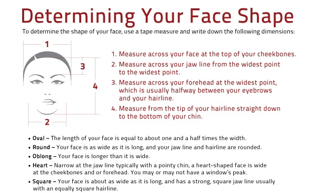 How To Choose The Right Hairstyle For Your Face Shape. Do you even know your face shape? Check out how to figure it out and then what hairstyles will look best on you!