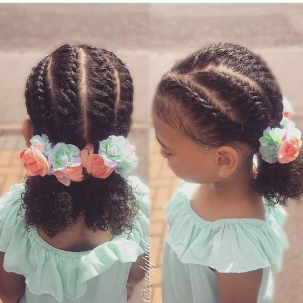 Looking for the best Back To School Hairstyles For Your Little Natural Girl? We've got several that will keep your daughter styled up! Videos included!