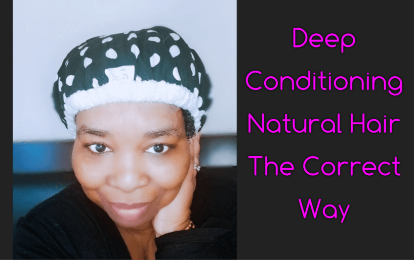 Deep conditioning your natural hair is one of the best ways to retain moisture and protect our hair. Do you know how to do it correctly? We show you how.