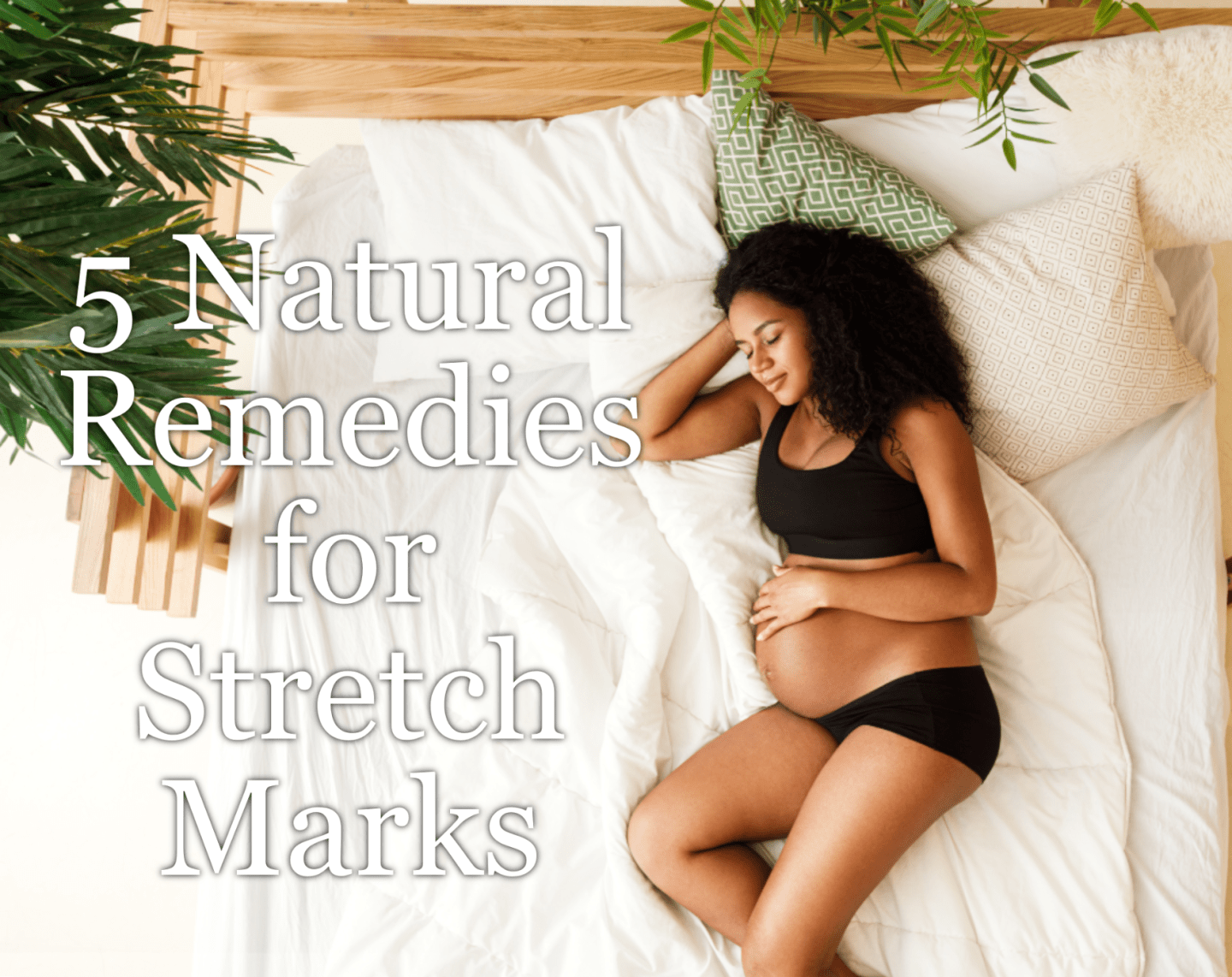 Stretch Marks are unattractive but natural for many women during pregnancy. We have some natural remedies for treating and fading them.
