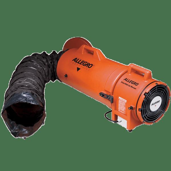 9538-25 Ventilador Compaxial Antiexplosivo + Ducto