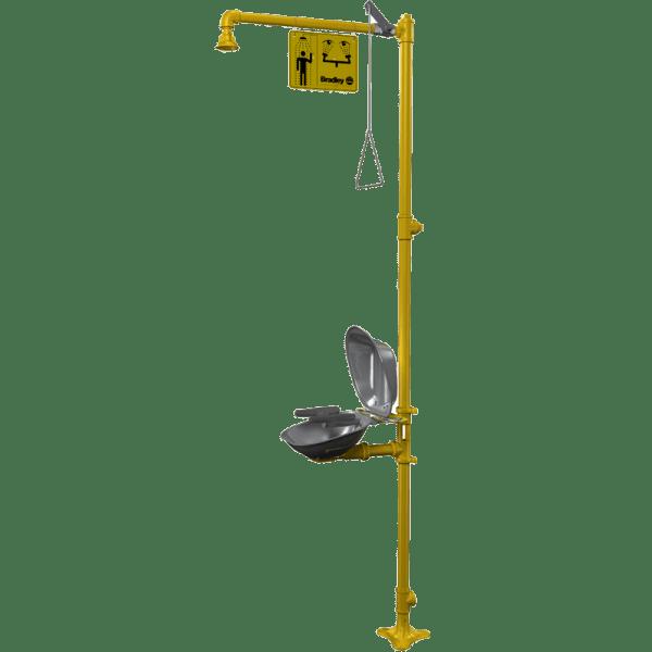 S19-314DCFW Sistema de Ducha + Lavaojos de Emergencia