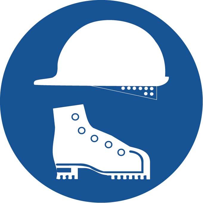 Port de casque et chaussures Image