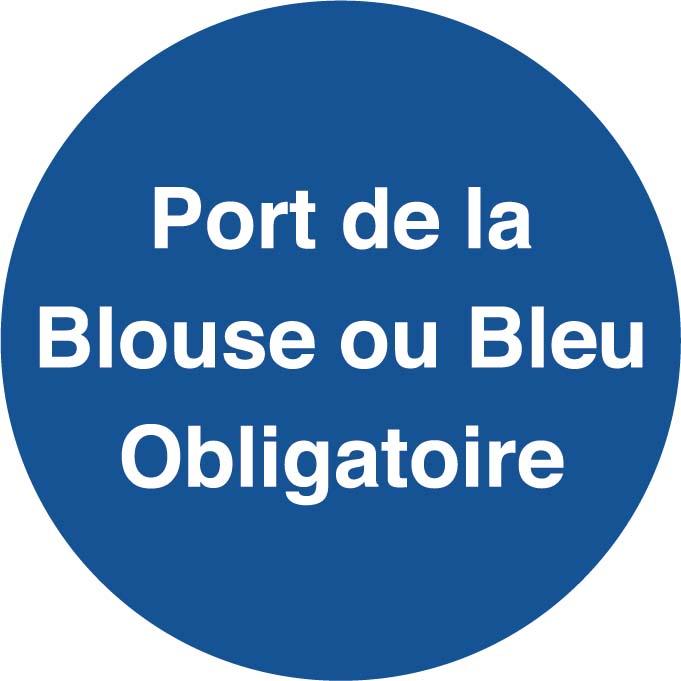 Port de la Blouse ou du bleu Image