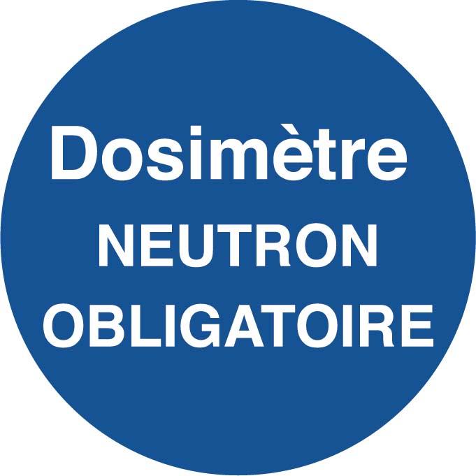 Dosimètre Neuton obligatoire Image
