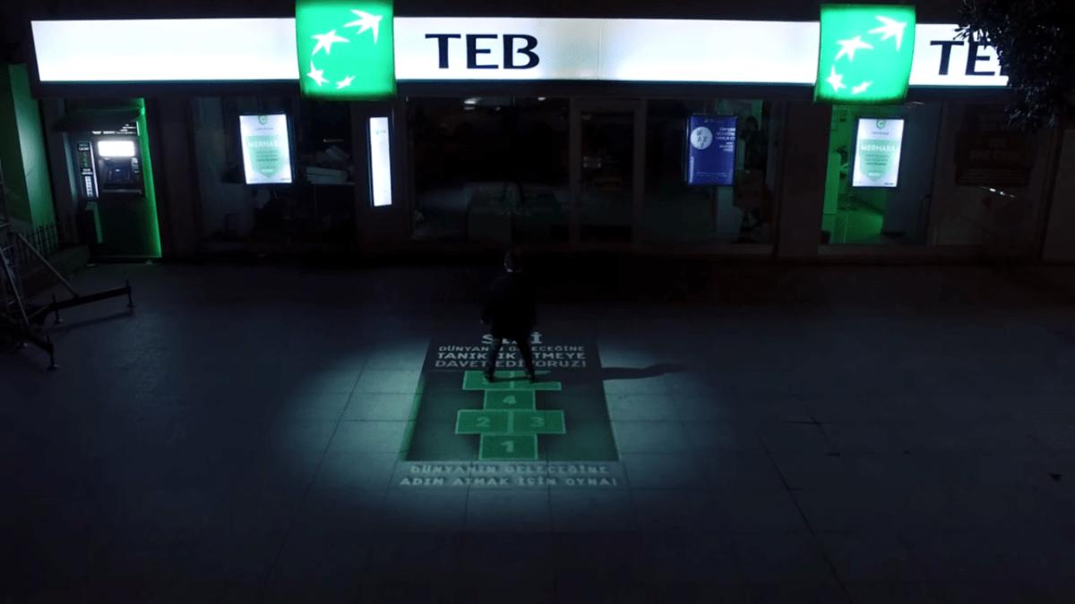 TEB'ten İnteraktif Bir Reklam