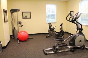 Sheridan Park Apartments Geneva-NY- fitness center