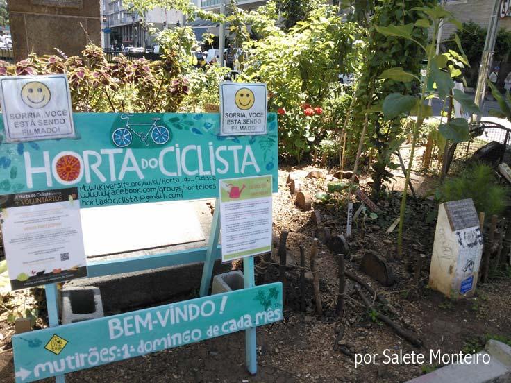 Horta do Ciclista na Avenida Paulista