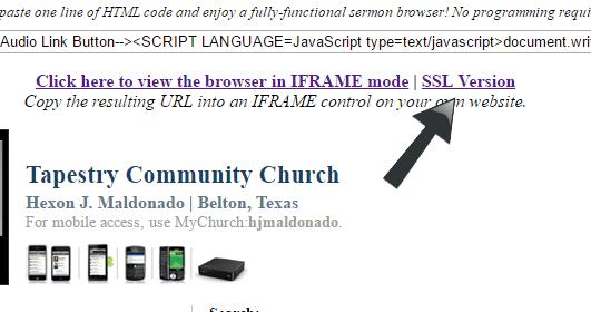 sermon-browser-iframes-ssl