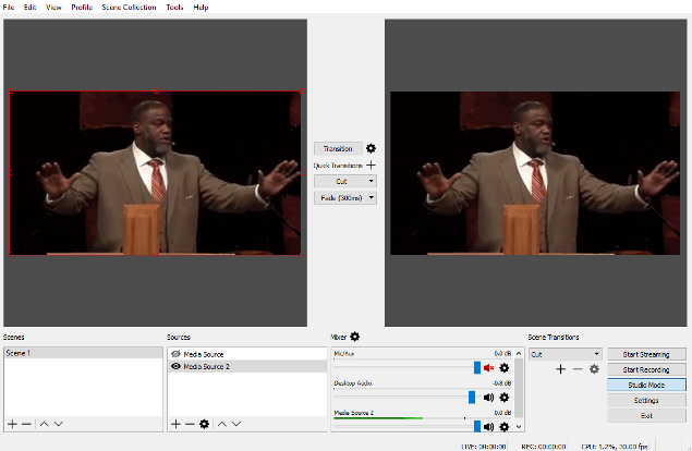 SermonAudio Tips | Webcasting with OBS Studio