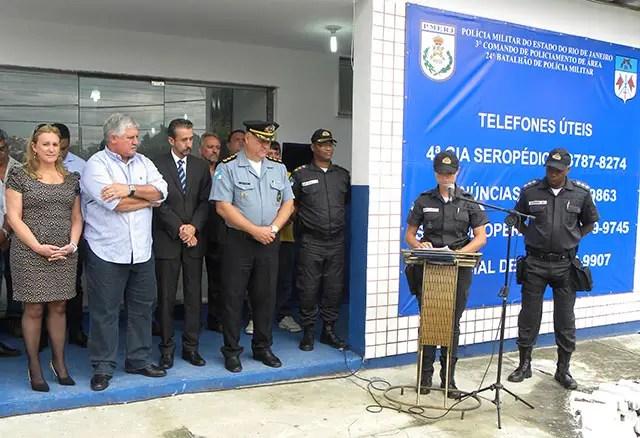 inauguração DPO