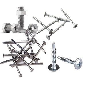 Bolts, screws & nails