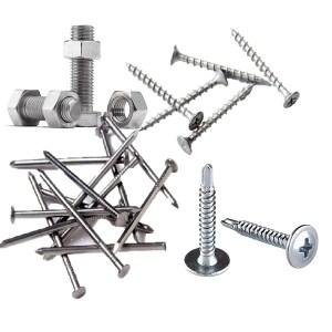 Bolts, screws & nails