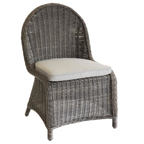 chaise de jardin betong aluminium en resine tressee hesperide