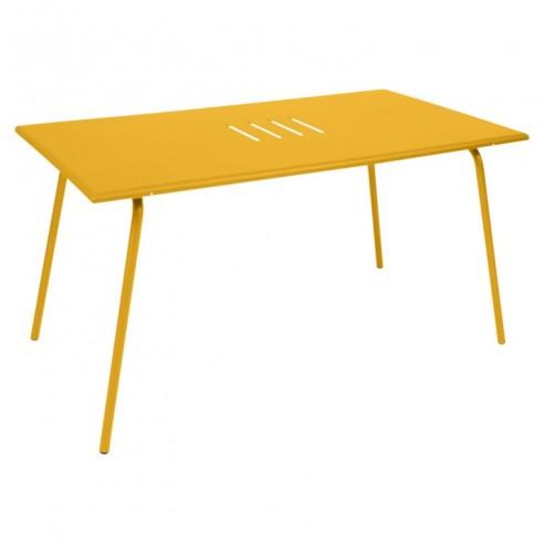 table de jardin monceau 146 x 80 cm pour 6 personnes fermob