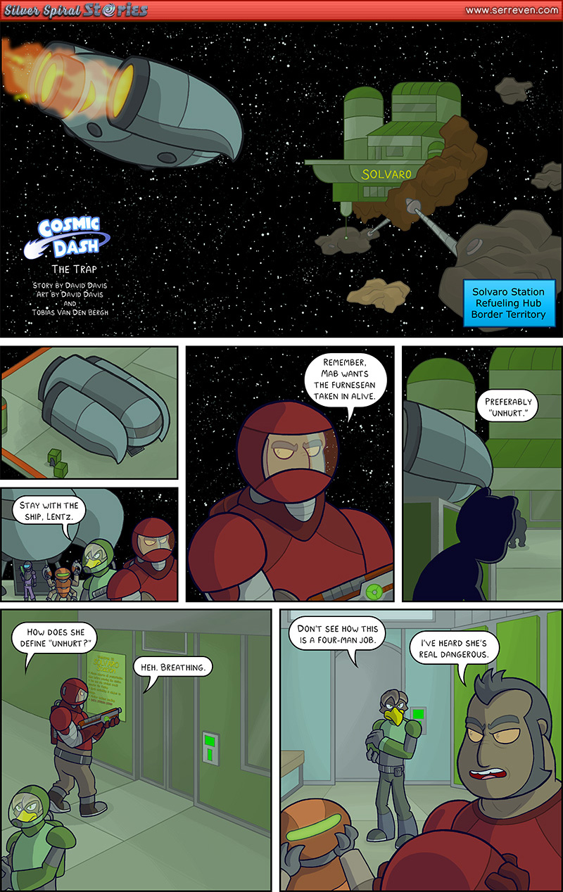 """The Trap"" – Pg 1"