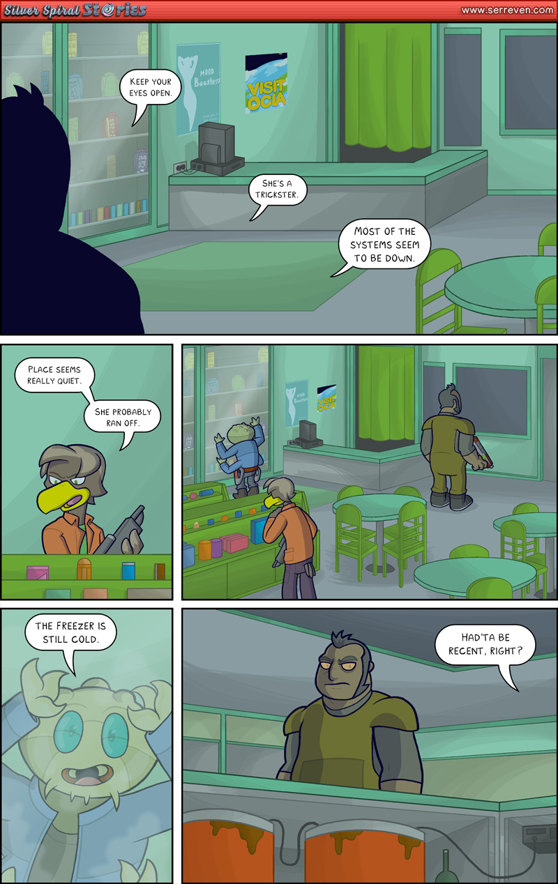 """The Trap"" – Pg 2"