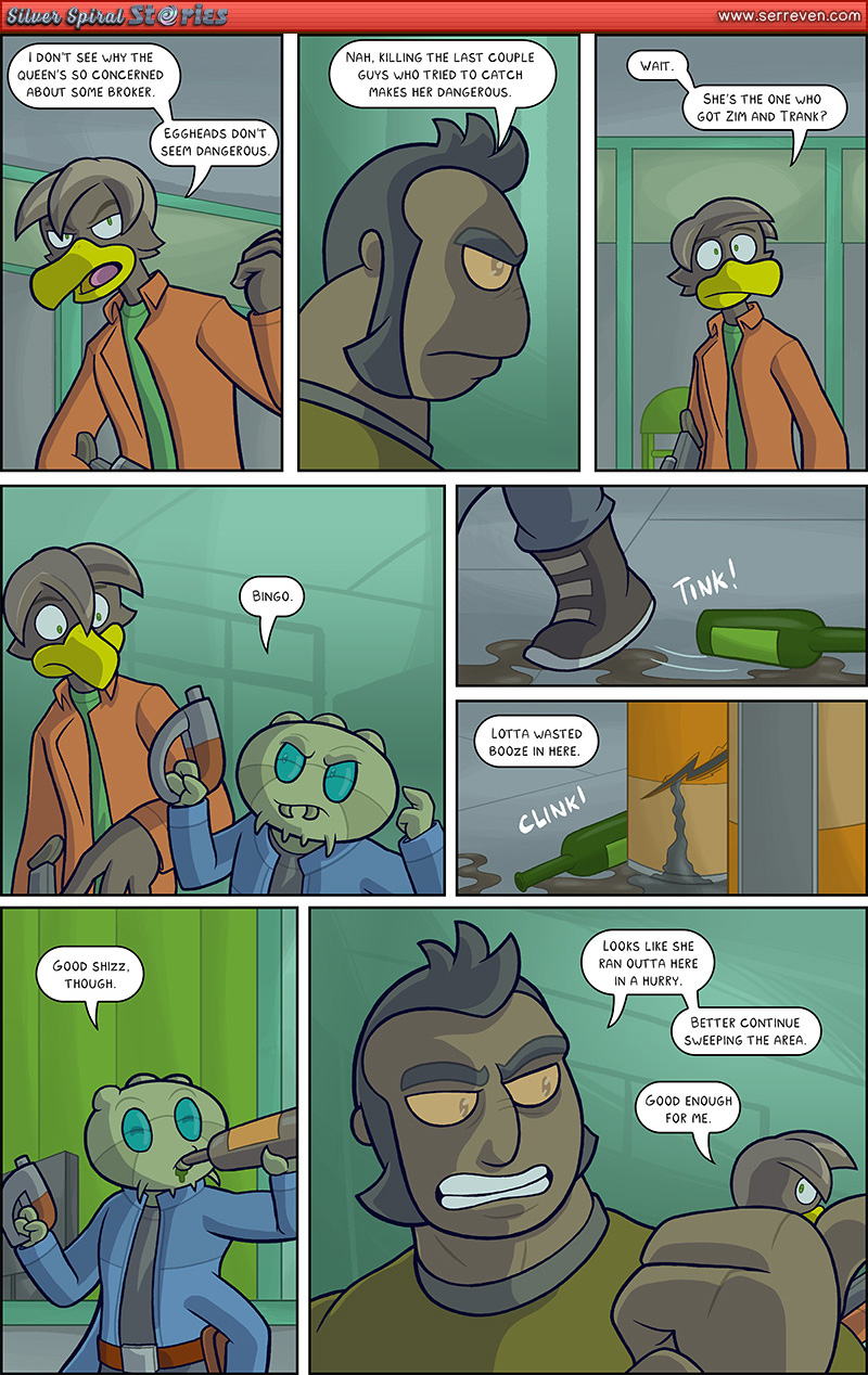"""""""The Trap"""" – Pg 3"""