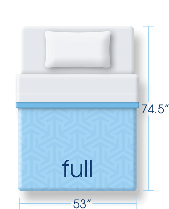 Mattress Size Full Png