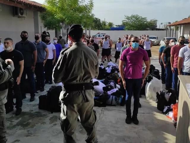 Polícia Militar recebe nova turma para a formação de soldados no 14º BPM, com sede em Sousa