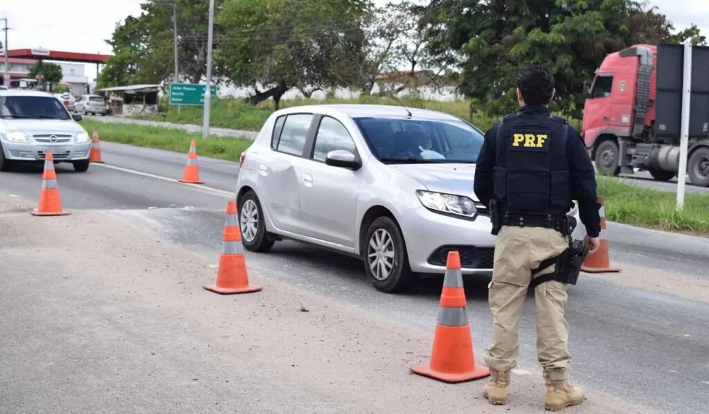 RF inicia 'Operação Carnaval' em rodovias federais que cortam a PB