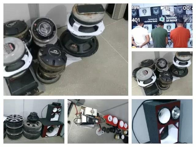 GTE com apoio da PRF e Polícia Civil de CG recuperam parte de equipamentos furtado da casa de Carlinhos do Paredão em Cajazeiras e prende suspeito em Campina Grande