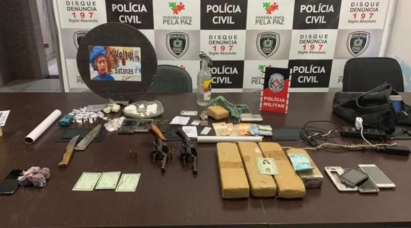 Operação da Polícia contra tráfico de drogas e homicídios em Patos prende oito (8) pessoas